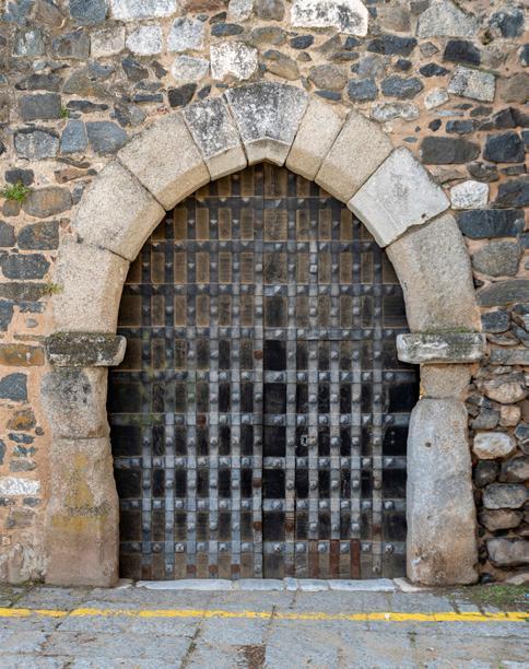 Porta do Castelo de Beja